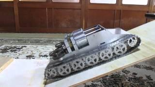 stirling engine twin 2  スターリングエンジン