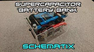 Super Capacitor 'Battery' Bank Construction Video