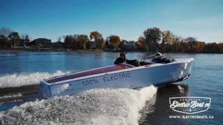 The Fastest Electric Boat   America's Only Electric Water Sport Towboat   Bruce 22   CEBC
