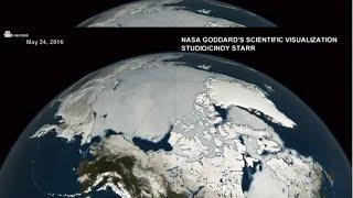 NASA video shows Arctic Sea Ice Melt at Alarming Pace