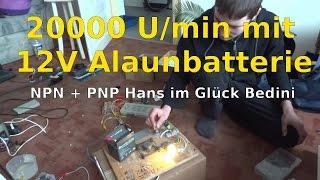 """NPN+PNP an """"Hans im Glück Bedini"""" und Re-EMF Charger"""