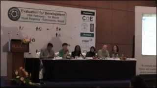 Evaluation Conclave 2013: DAY 2: Climate Change Mitigation M&E: M&E of Climate Investments