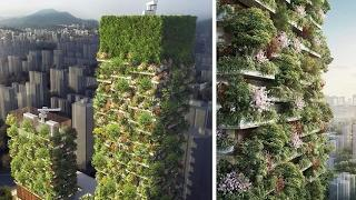 /life on earth/ First Vertical Forest In Asia To Have Over 3,000 Plants