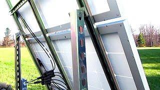 DIY Solar Panel System - 300 Watts Off Grid Ground Mount