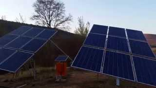 DIY single axis solar tracker