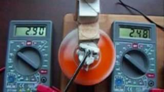 Joule thief powered  dc generator