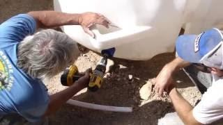 How to Install Earthship Cisterns