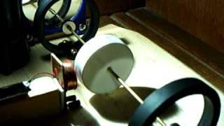 Light powered Ring Magnet Pulse Motor