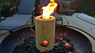 Log Rocket Stove Review