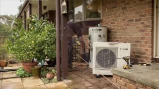 TCK Solar SANDEN heat pump installation video