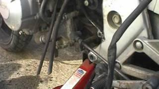 Honda CBR600 EV Conversion 03 Engine Removal