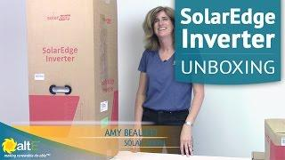 SolarEdge Inverter, Rapid Shutdown Kit & DC Optimizers | Unboxing & Features