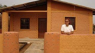 Bolivian Recycled Homes Made of Litter