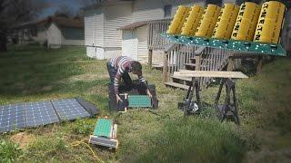 Building the SOLN1-2000 Watt Capacitor Solar Generator