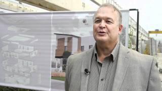Lafarge starts a NetZero precast concrete energy home