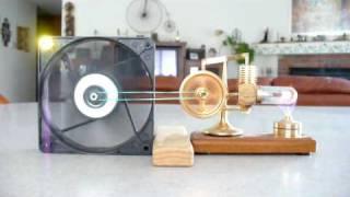 Hog Stirling Motor Generator & Light