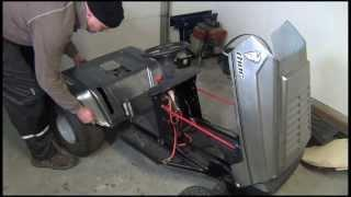 El Thorattor - Electric Garden Tractor / the build