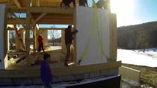 NatureBuilt Wall Systems - prefab strawbale walls