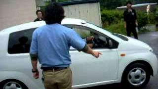 Test Drive of Daihatsu Mira EV conversion in Japan.