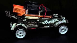 Thermoelectric powered RC car