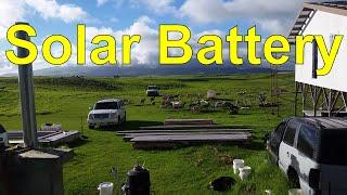 Off Grid Living - Battery System Down Grade - Bad Battery
