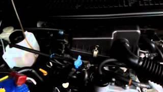 Hydrogen fuel vaporizer on a Daihatsu Terios 2006