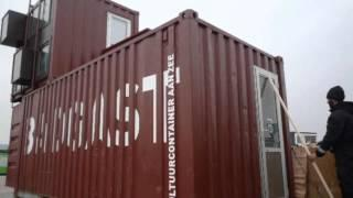 Artist in Residence Studio Made from Shipping Containers