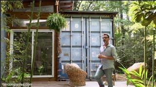 Artist builds his Savannah studio with shipping containers
