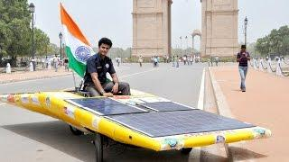 Students Create Zero Carbon Emission Solar Car