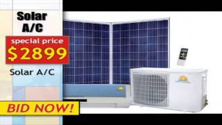 Solar Split Air Conditioner