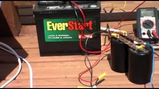 (24V) Solar TS SS SSG Charging 12V Running 20 watt load