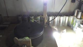 Pulse Motor - Generator Update 3, Another coil - 1, 4 & 13watt AC load with speed up under load...