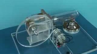 Stirling Engine and Generator