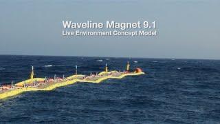 SWEL Waveline Magnet 9.1 Wave Energy Converter WEC