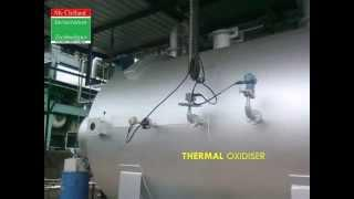 TRS GAS WASTE INCINERATOR WITH WASTE HEAT RECOVERY BOILER