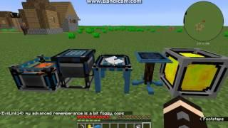 Minecraft Lord Craft Mod Overview Part 2 - Mana Batteries, Advanced Tables & More