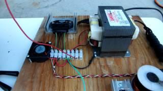 Hydrogen from Tap Water @ 1,111 hz - HHO Pulse Charger v2.0