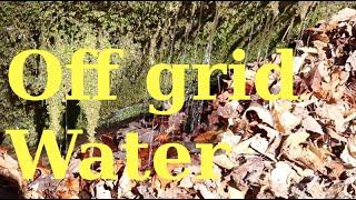 Off grid water solution, micro hydro,  ram pump