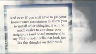 Solar Panel Shingles