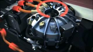 Flywheel energy storage system Porsche