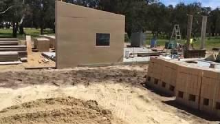 Stratham Rammed Earth