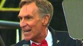 Bill Nye CALLS OUT lawmakers on Earth Day March for Science in Washington DC 4/22/2017