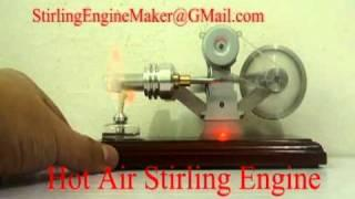 Hot Air Stirling Engine Power Generator Educational Toy