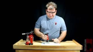 Using the MT-51 Butane Microtorch