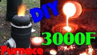 DIY Iron Furnace Build