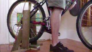 Pedal bike 12 volt power generator, dirt cheap, ghetto style