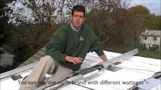 Part 1 New Jersey PV Solar Installation of a Enphase Energy Micro Inverter Sharp Unirac