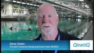 Human Powered Submarine racing at QinetiQ Haslar