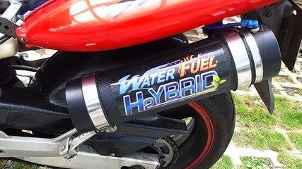HHO Generator on Honda Hornet 250 (CB250F)