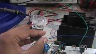 DC Motor Speed Controller using PWM and a Joystick!